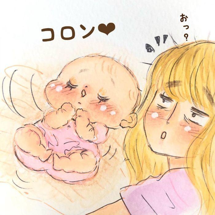 ゴクッ…これは泣く5秒前…!?表情ひとつで翻弄する、生まれたての日々♡の画像19