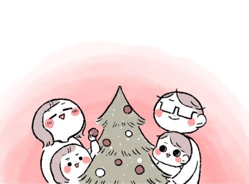 憧れのクリスマスツリーのはずが…。小さい子どもとツリーの相性は最悪だった(涙)のタイトル画像