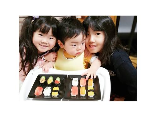 赤ちゃんがお寿司…!?お野菜にひと手間かけて、晴れの日の一皿に♡のタイトル画像
