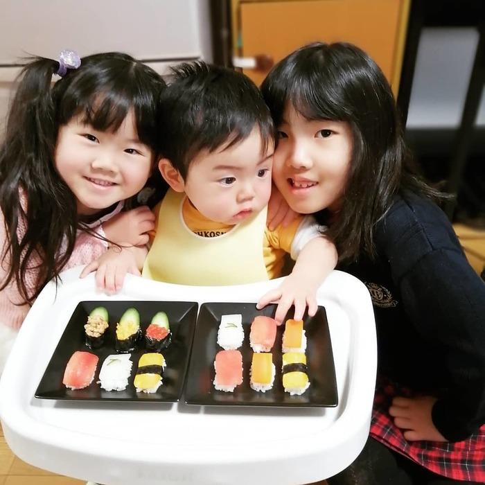 赤ちゃんがお寿司…!?お野菜にひと手間かけて、晴れの日の一皿に♡の画像3