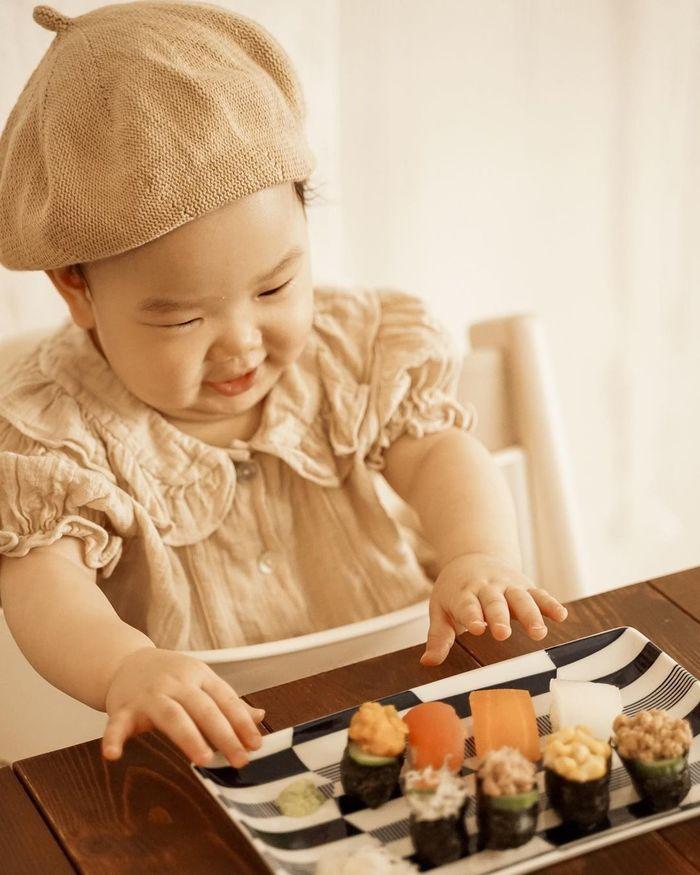 赤ちゃんがお寿司…!?お野菜にひと手間かけて、晴れの日の一皿に♡の画像1
