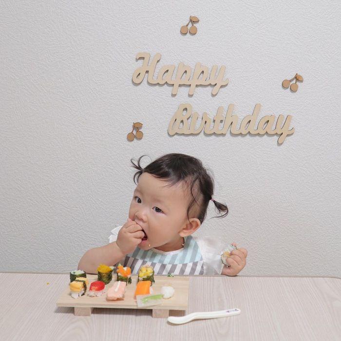 赤ちゃんがお寿司…!?お野菜にひと手間かけて、晴れの日の一皿に♡の画像2