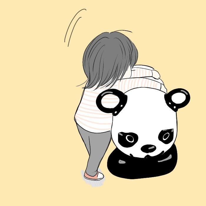 「パンダさん、〇〇!」公園から帰る時のほっこりルールとは<第5回投稿コンテスト NO.16>の画像3