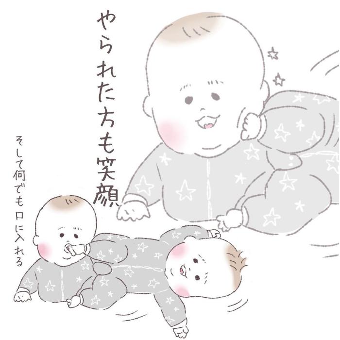 双子って最強におもしろカワイイ…ふと目を離したすきに、起きていることの画像25