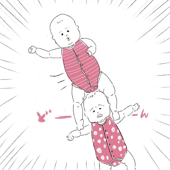 双子って最強におもしろカワイイ…ふと目を離したすきに、起きていることの画像5
