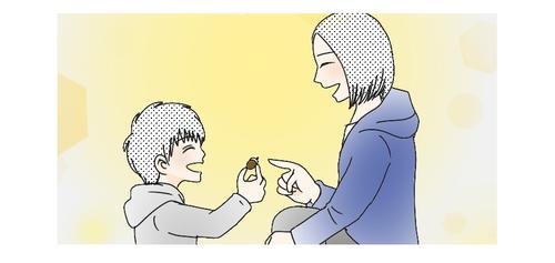 「虹、持って帰れないかな?」息子とママの宝物さがし<第5回投稿コンテスト NO.73>のタイトル画像