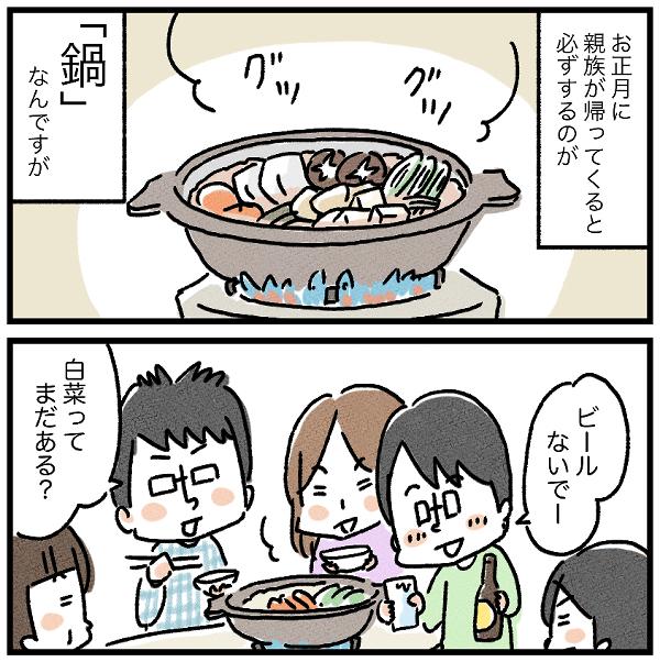 経験しないと分からない⁉︎鍋で実感した妻の苦労。の画像1