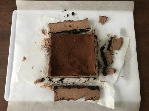 え、これレンジで作ったの!?ねっとり濃厚♡生チョコチーズケーキレシピの画像11