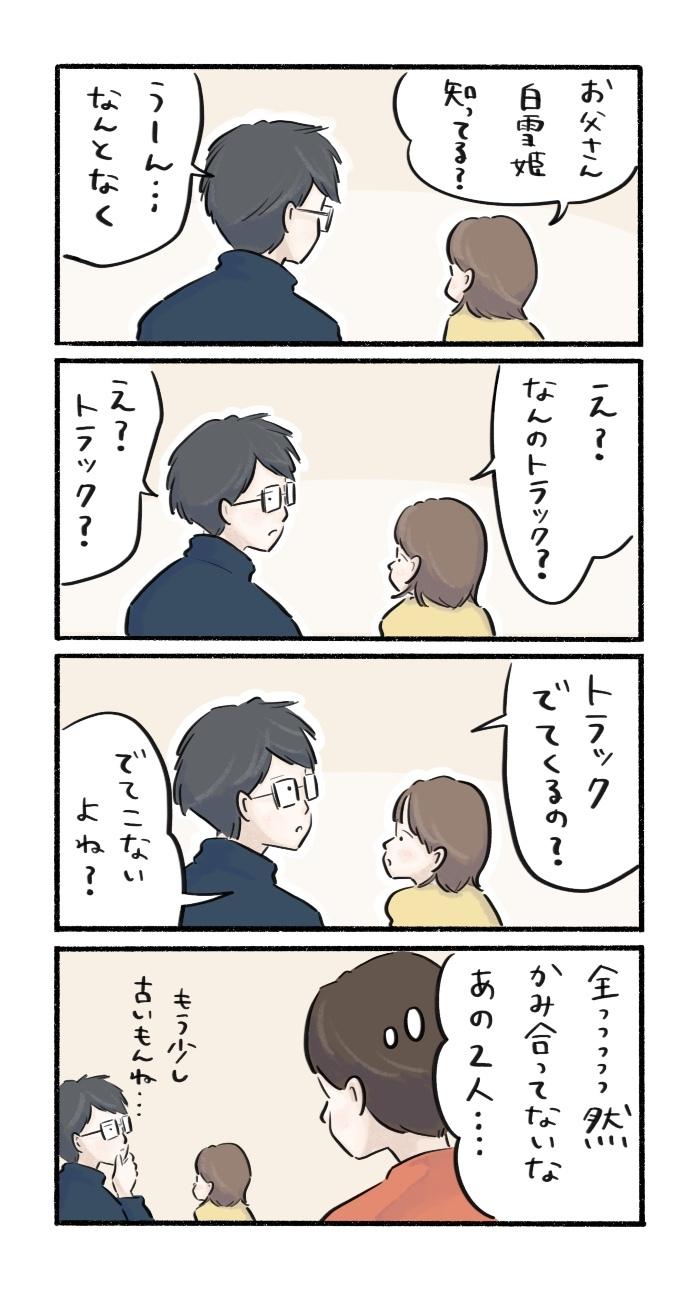「お父さん、白雪姫知ってる?」娘の問いかけが、想定外の展開に…!の画像1