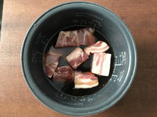 とろとろ角煮が炊飯器だけで!ご飯もお酒も進む系♡楽ウマおかずレシピの画像2