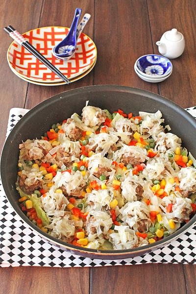 """シュウマイは""""包まない""""のが簡単!お肉をガッツリ食べたい日の速攻レシピの画像1"""