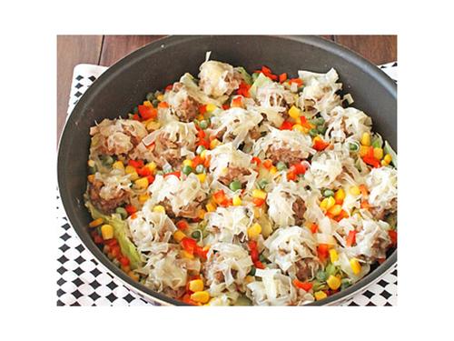 """シュウマイは""""包まない""""のが簡単!お肉をガッツリ食べたい日の速攻レシピのタイトル画像"""