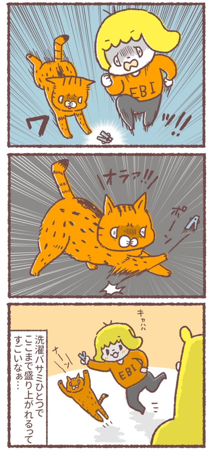 幼児とネコが、血相を変えてダッシュ!1人と1匹がそろって狙うアレの画像3