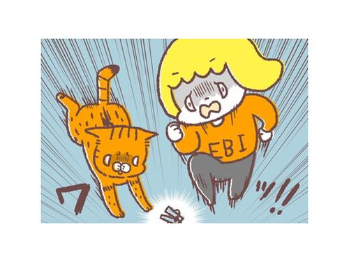 幼児とネコが、血相を変えてダッシュ!1人と1匹がそろって狙うアレのタイトル画像