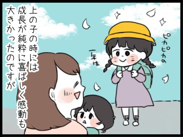 入園児にはブカブカの園服がショート丈に。下の子の卒園に母が思うこと。の画像2