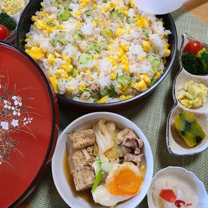 今日はひな祭り~!準備ゼロでもまだ間に合う!?家にあるモノでちらし寿司♡の画像2