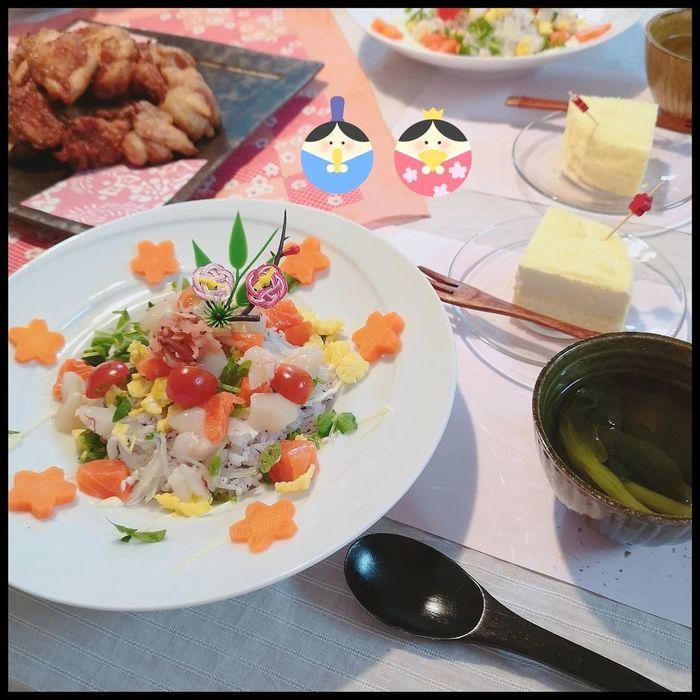今日はひな祭り~!準備ゼロでもまだ間に合う!?家にあるモノでちらし寿司♡の画像4