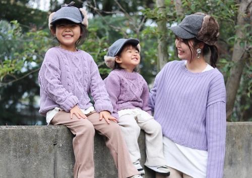 暖かくなってきたこの頃…なに着よう?リンクコーデなら淡いカラーが素敵!のタイトル画像