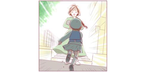 ママ、ただいま〜!園バスから降りる時、いつだってその笑顔に抱きつきたいのタイトル画像