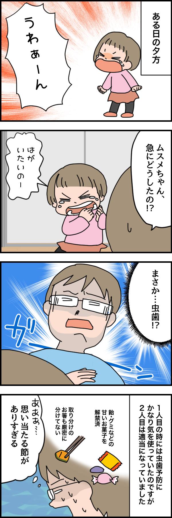 幼児の「歯が痛い!」はこんな原因でも起きる!ビックリ歯医者デビューの画像1