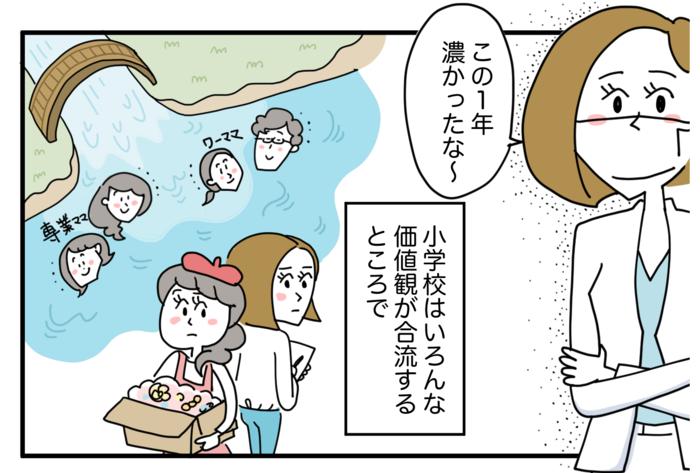「ママ友」という関係の正体は…!?1年間の小学校生活でやっと分かったことの画像8