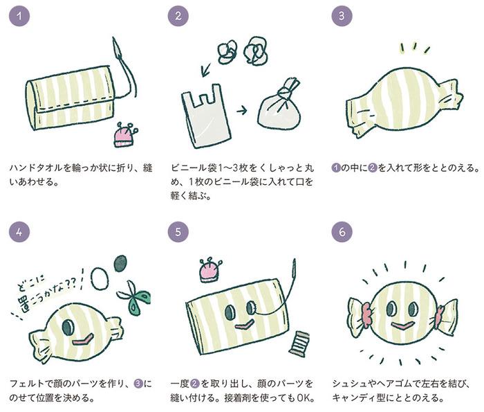 手作りおもちゃ初挑戦に!ねんね期や寝かしつけに◎な簡単レシピ3つの画像2
