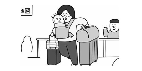 1歳児を連れてアメリカへ!!謎の英語プリントTシャツには気をつけようのタイトル画像