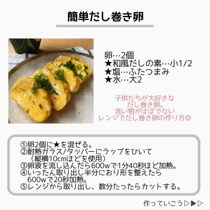 レンジでらくらく簡単レシピ3選!そぼろ丼にだし巻き卵、麻婆春雨まで!の画像19