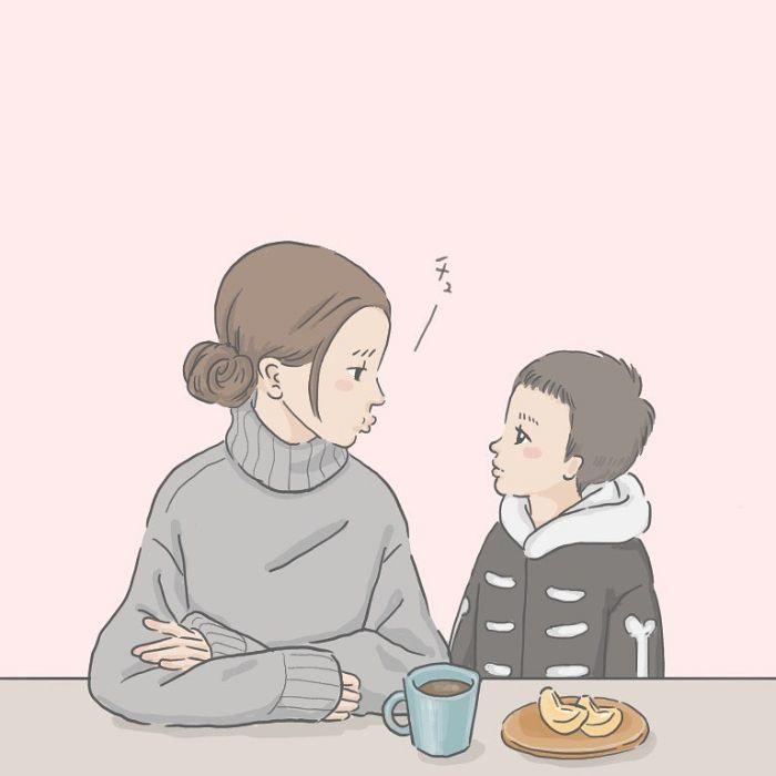 何歳まで息子を抱きしめられる?4人兄弟の母が検証してみたら…(笑)の画像8
