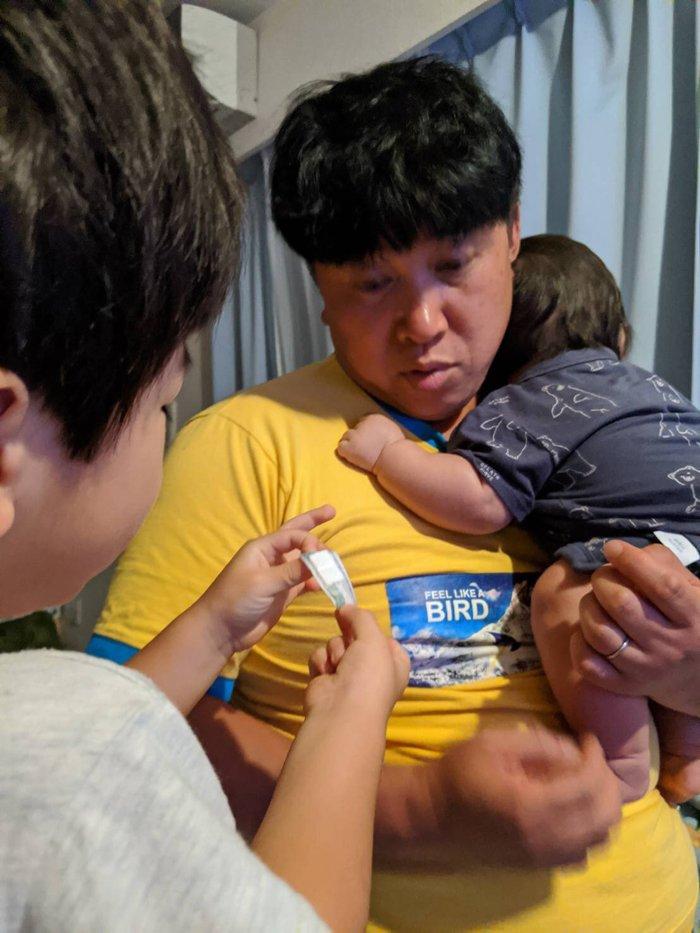 弟がギャン泣き!!弟おもいのお兄ちゃんがとった行動にスギちゃん胸熱の画像2