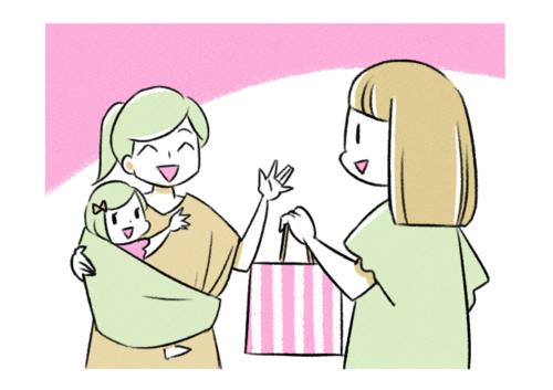 先輩の出産から1年…お祝いに渡して、喜ばれるものってなんだろう?のタイトル画像