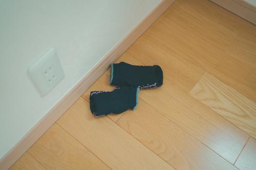 「まーた、靴下丸まってる…」角が立たない注意の方法を見つけました!!のタイトル画像