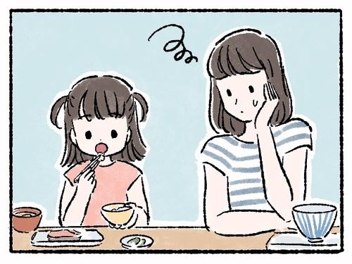 ゆっくり、マイペース?食事に時間がかかる子ども、どうしたらいいんだろう…。のタイトル画像