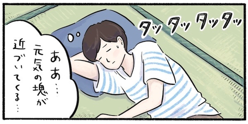 """昼のうたた寝中に聞こえてきた足音…。ちょっと意外だったその""""正体""""のタイトル画像"""