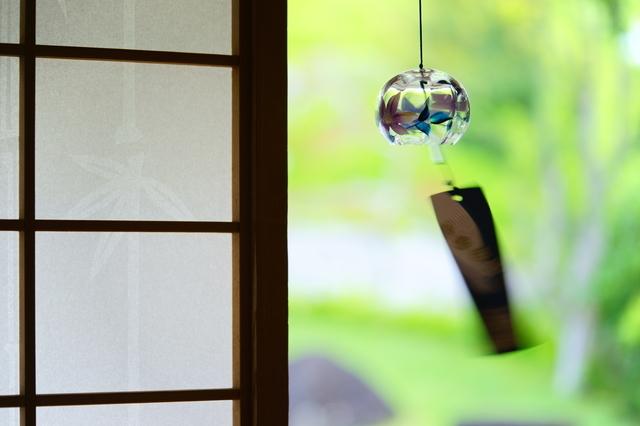 """""""あの大人気アニメ""""の影響で江戸風鈴を吊るしています。我が家の風鈴事情の画像1"""