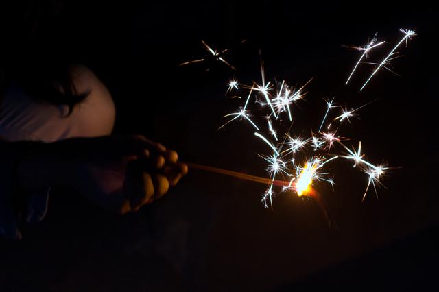 あっ、花火が笑ってる!4歳児が撮影した奇跡の1枚でみんなが笑顔にの画像1