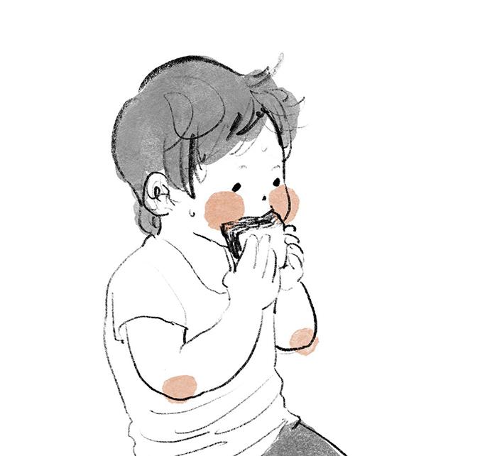 ああ、わが子のまあるいほっぺは国宝級!愛があふれる親目線のセカイの画像3
