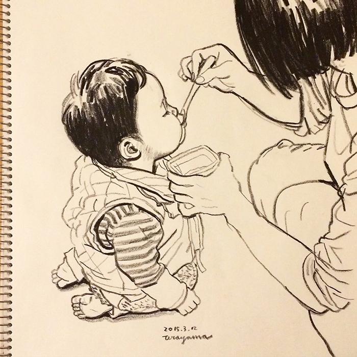 ああ、わが子のまあるいほっぺは国宝級!愛があふれる親目線のセカイの画像5